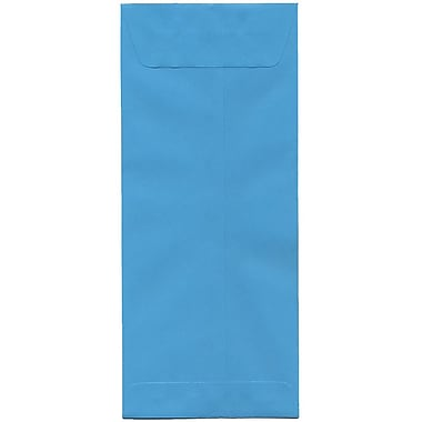 JAM Paper® #14 Policy Envelopes, 5 x 11.5, Brite Hue Blue Recycled, 500/Pack (3156407H)