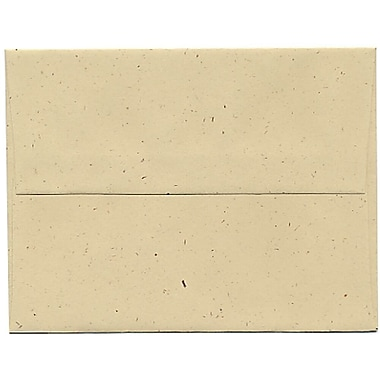 JAM Paper® A2 Invitation Envelopes, 4.38 x 5.75, Husk Brown Recycled, 250/Pack (3180H)