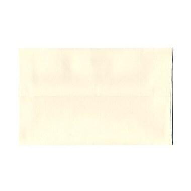 JAM Paper – Enveloppes Strathmore A9, fini vélin blanc naturel, 250/paquet