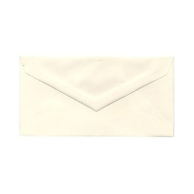 JAM Paper® Monarch Envelopes, 3.88 x 7.5, Strathmore Natural White Wove, 500/Pack (3197090H)
