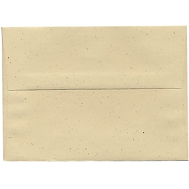 JAM Paper® A7 Invitation Envelopes, 5.25 x 7.25, Husk Brown Recycled, 250/Pack (3206H)