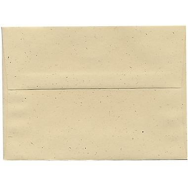 JAM PaperMD – Enveloppes A7 en papier recyclé, Balle de blé, 250/paquet