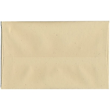 JAM Paper® A10 Invitation Envelopes, 6 x 9.5, Husk Brown Recycled, 250/Pack (3222H)