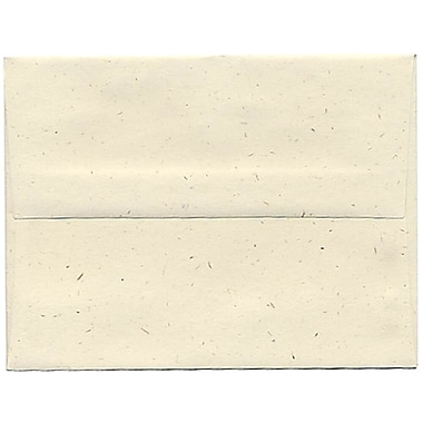 JAM Paper® A2 Invitation Envelopes, 4.38 x 5.75, Milkweed Ivory Recycled, 250/Pack (3271H)