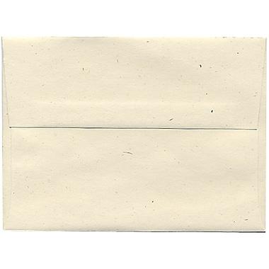 JAM Paper® A6 Invitation Envelopes, 4.75 x 6.5, Milkweed Ivory Recycled, 250/Pack (3289H)