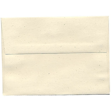 JAM Paper® A7 Invitation Envelopes, 5.25 x 7.25, Milkweed Ivory Recycled, 250/Pack (3297H)