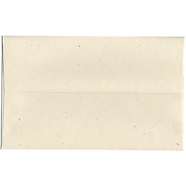 JAM Paper – Enveloppes A10 en papier recyclé, Milkweed genesis, 250/paquet