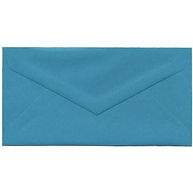 JAM Paper – Enveloppes recyclées Brite Hue nº 7,75 (3,88 x 7,5 po), bleu de mer, 500/bte