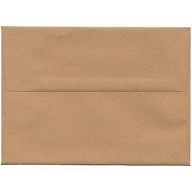 JAM Paper – Enveloppes A7 en papier recyclé, format passeport, gingembre, 250/paquet