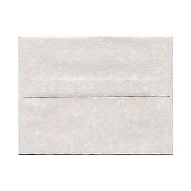 JAM Paper – Enveloppes A2 en papier recyclé, parchemin étain, 250/paquet