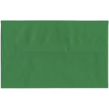 JAM Paper® A10 Invitation Envelopes, 6 x 9.5, Brite Hue Green Recycled, 250/Pack (35633H)