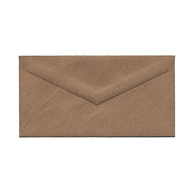 JAM Paper® Monarch Envelopes, 3.88 x 7.5, Brown Kraft Paper Bag Recycled, 500/Pack (36317567H)
