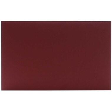 JAM Paper – Enveloppes A10 simples foncées, bleu marine, 250/paquet