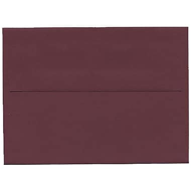 JAM Paper® A6 Invitation Envelopes, 4.75 x 6.5, Burgundy, 250/Pack (36395843H)