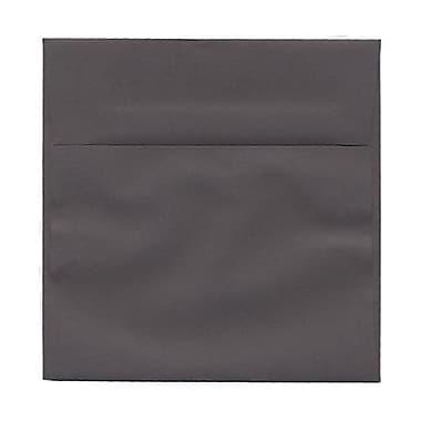 JAM Paper – Enveloppes simples carrées, 6 x 6 po, gris foncé, 50/paquet