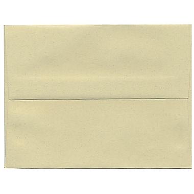 JAM Paper – Enveloppes A2 en papier recyclé, format passeport, gypse, 250/paquet