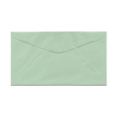 JAM Paper® #6.75 Commercial Envelopes, 3.63 x 6.5, Light Green, 250/Pack (457611417H)