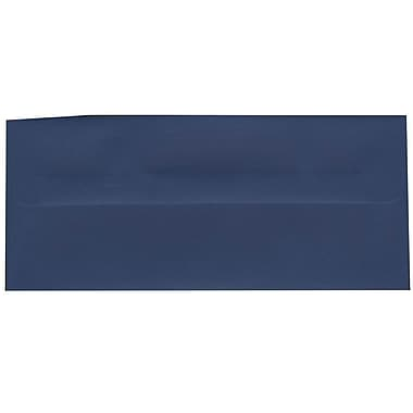 JAM Paper® #10 Business Envelopes, 4 1/8 x 9.5, Presidential Blue, 500/Pack (463916900H)