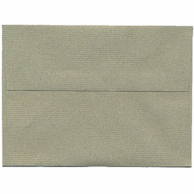 JAM Paper® A6 Invitation Envelopes, 4.75 x 6.5, Sage Green Recycled, 250/Pack (49165H)