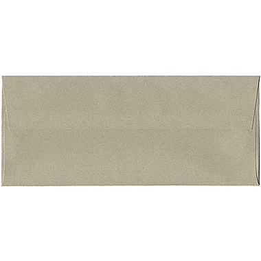 JAM Paper® #10 Business Envelopes, 4 1/8 x 9.5, Sage Green Recycled, 250/Pack (49306H)