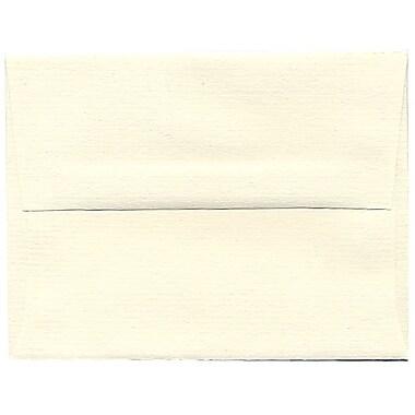 JAM Paper® A2 Invitation Envelopes, 4.38 x 5.75, Strathmore Natural White Pinstripe, 250/Pack (50170H)