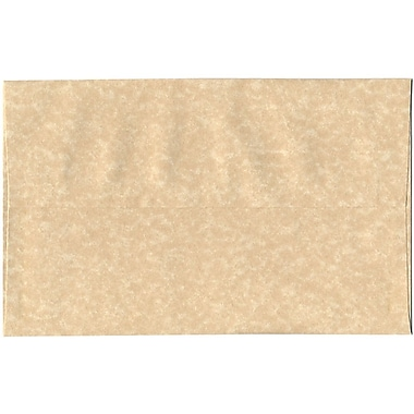 JAM Paper® A10 Invitation Envelopes, 6 x 9.5, Parchment Brown Recycled, 250/Pack (52074H)