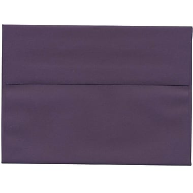 JAM Paper® A7 Invitation Envelopes, 5.25 x 7.25, Dark Purple, 250/Pack (563912508H)