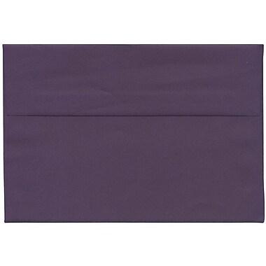 JAM Paper® A8 Invitation Envelopes, 5.5 x 8.125, Dark Purple, 250/Pack (563912510H)
