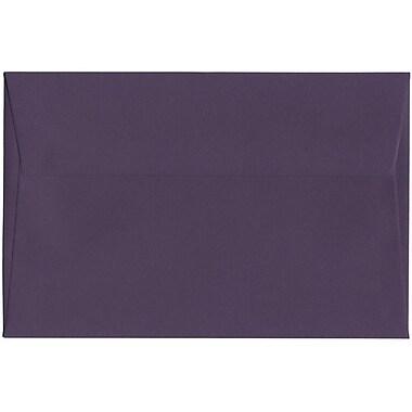 JAM Paper – Enveloppes A9 nuances foncées, violet foncé, 250/paquet