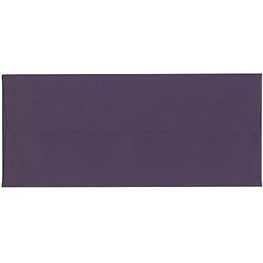 JAM Paper – Enveloppe foncée nº 10 (4,13 po x 9,5 po), violet, 500/bte