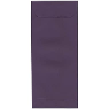 JAM Paper® #10 Policy Envelopes, 4 1/8 x 9.5, Dark Purple, 500/Pack (563912518H)