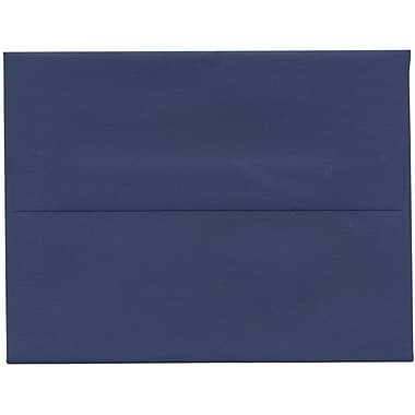 JAM Paper® A2 Invitation Envelopes, 4.38 x 5.75, Presidential Blue, 250/Pack (563913396H)