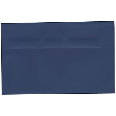 JAM Paper® A10 Invitation Envelopes, 6 x 9.5, Presidential Blue, 250/Pack (563916912H)