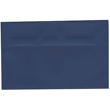JAM Paper – Enveloppes A10 nuances foncées, bleu présidentiel, 250/paquet