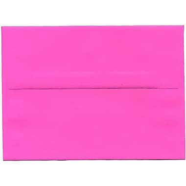 JAM PaperMD – Enveloppes format A6 Brite Hue, fuchsia ultra vif, paq./250