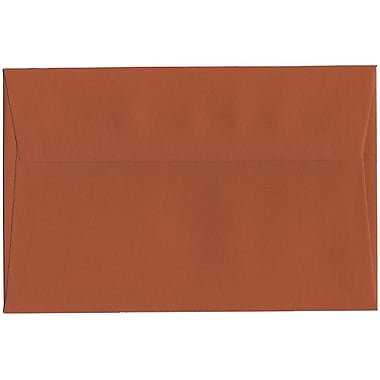 JAM Paper® A9 Invitation Envelopes, 5.75 x 8.75, Dark Orange, 250/Pack (61511364H)