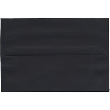 JAM Paper – Enveloppes A8 en papier recyclé, lin noir, 250/paquet