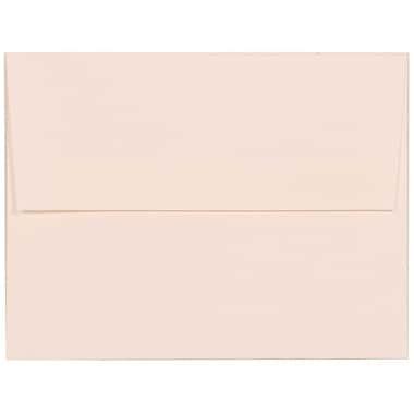JAM Paper – Enveloppes A2 en papier recyclé au fini milleraies blanc éclatant, 250/paquet