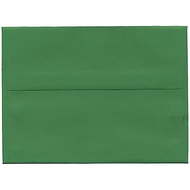 JAM Paper® A6 Invitation Envelopes, 4.75 x 6.5, Brite Hue Green Recycled, 250/Pack (67195H)