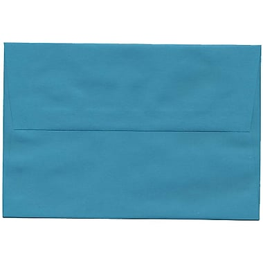 JAM Paper® A8 Invitation Envelopes, 5.5 x 8.125, Brite Hue Sea Blue Recycled, 250/Pack (70231H)