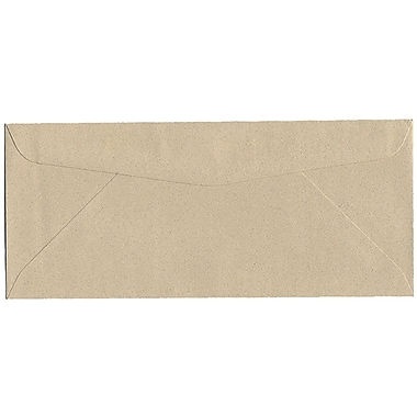 JAM Paper® #10 Business Envelopes, 4 1/8 x 9.5, Sandstone Ivory Recycled, 500/Pack (71037H)