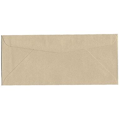 JAM Paper – Enveloppes recyclées de format passeport n° 10 (4,13 x 9,5 po), grès, 500/bte