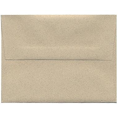 JAM Paper – Enveloppes A2 de format passeport en papier recyclé, grès, 250/paquet
