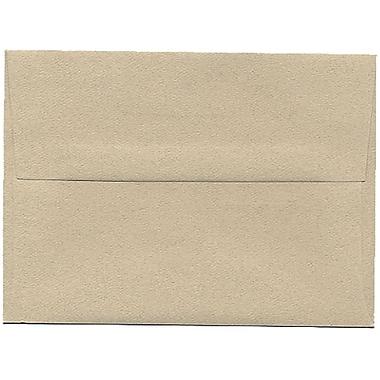 JAM Paper® A6 Invitation Envelopes, 4.75 x 6.5, Sandstone Ivory Recycled, 250/Pack (71201H)