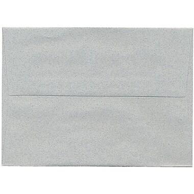 JAM Paper – Enveloppes A7 en papier recyclé, format passeport, couleur granite, 250/paquet