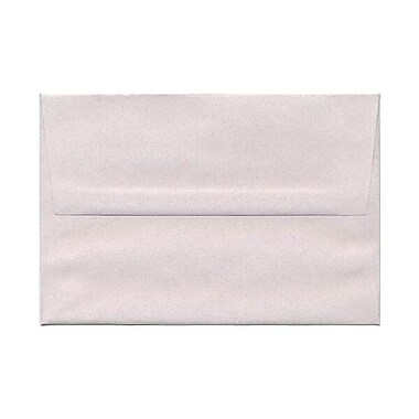 JAM Paper® A8 Invitation Envelopes, 5.5 x 8.125, Rose Quartz Pink Recycled, 250/Pack (71938H)