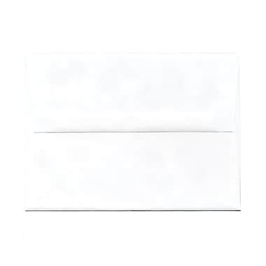 JAM Paper® A7 Invitation Envelopes, 5.25 x 7.25, White, 250/Pack (73767H)