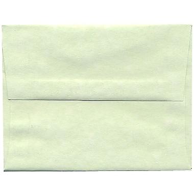 JAM Paper – Enveloppes A2 en papier recyclé, parchemin vert, 250/paquet