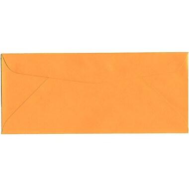 JAM Paper – Enveloppes recyclées Brite Hue n° 10 (4,13 x 9,5 po), orange vif, 500/bte
