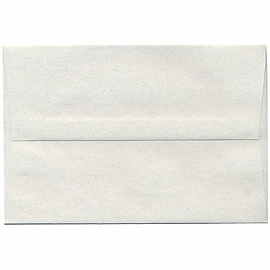 JAM Paper® A8 Invitation Envelopes, 5.5 x 8.125, Pumice White Recycled, 250/Pack (83488H)